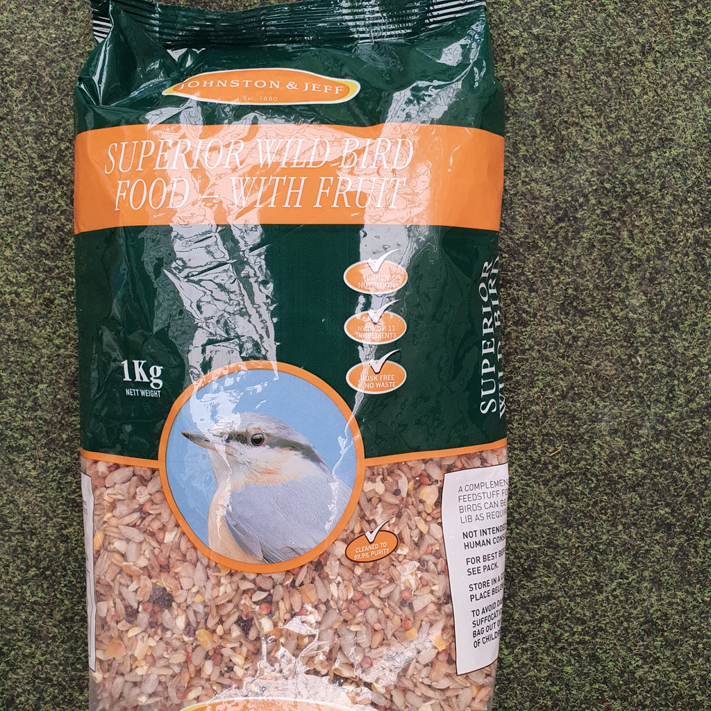 Superior wild bird food with fruit 1kg