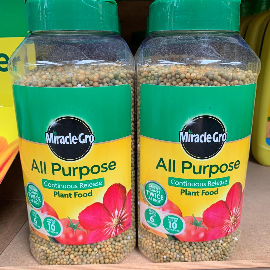 Miracle -Gro All Purpose Continuous Release Plant Food