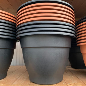 Large Plastic Bell Pot Garden Planter - 55cm