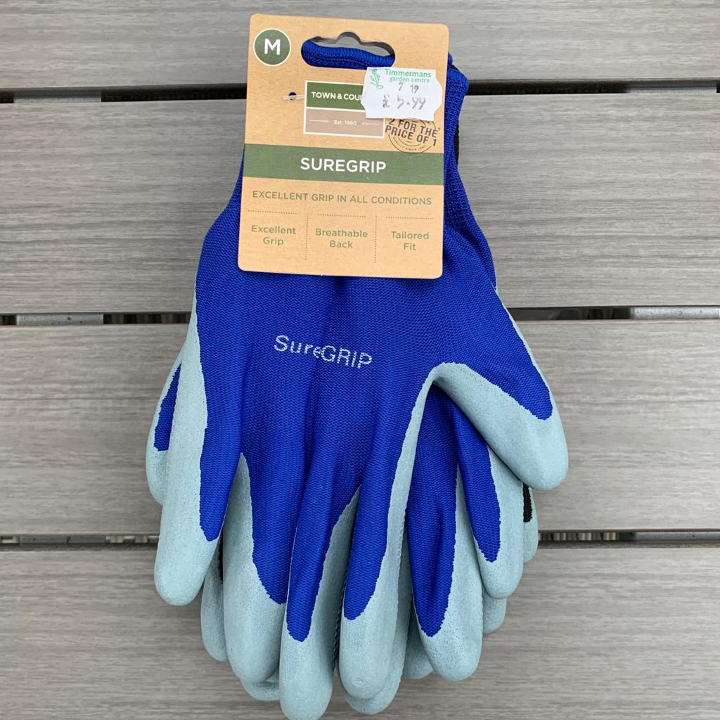 Mens Gardening Glove Twin Pack - Medium