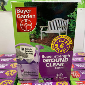 Bayer Super Strength Ground Clear x 6 Sachets