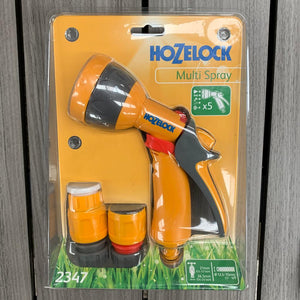 Hozelock Multi Spray Gun Starter Set - 5 Settings