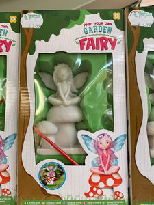 Paint your own Garden Fairy