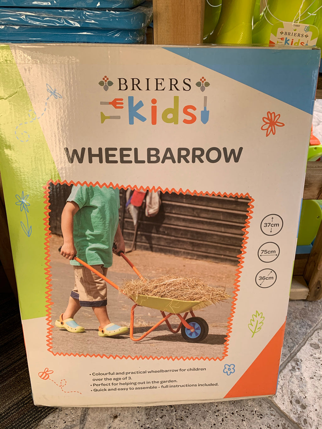 Childrenƒ??s Wheelbarrow
