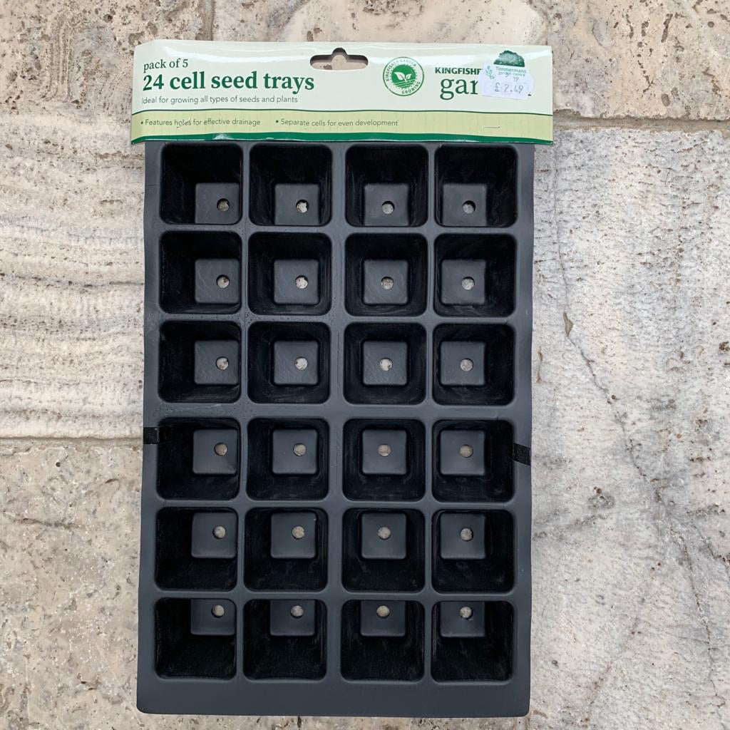 Pack of 5 Seed Trays