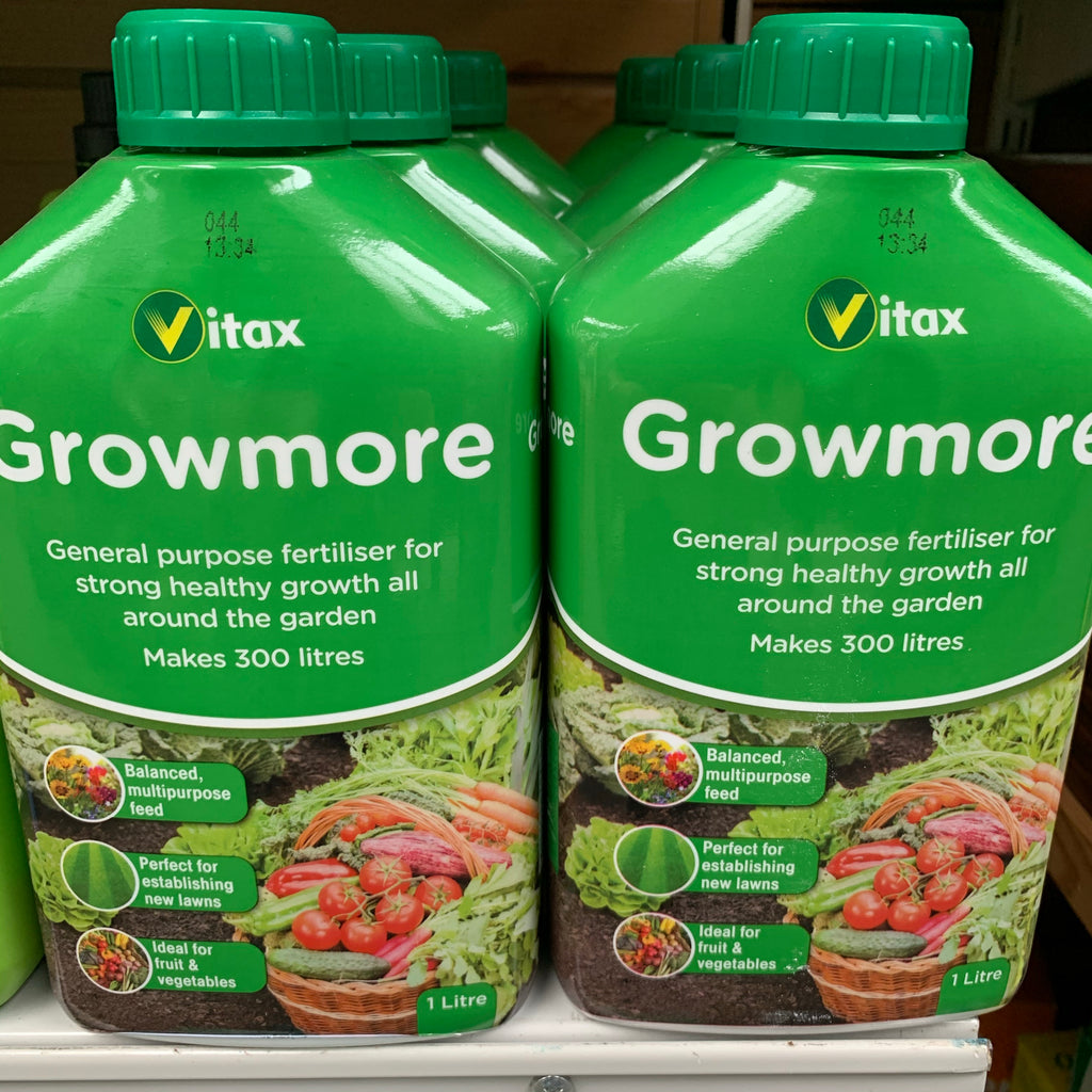 Growmore Liquid Plant Food 1litre Vitax