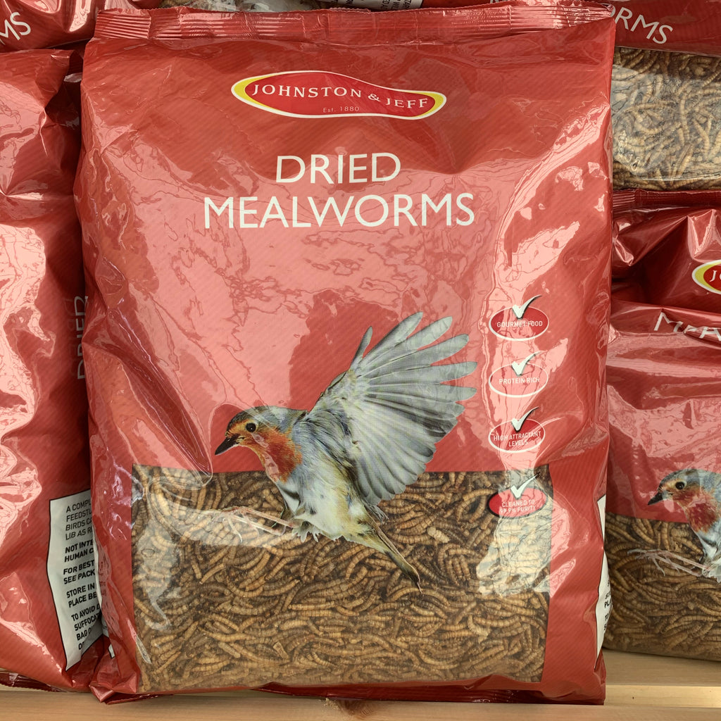 Dried Mealworms 1kg