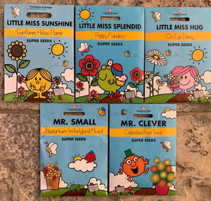 Children's Mr Men Flower Seed Collection