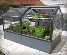 Load image into Gallery viewer, **HALF PRICE** Growcamp Raised Bed with Cover plus extension