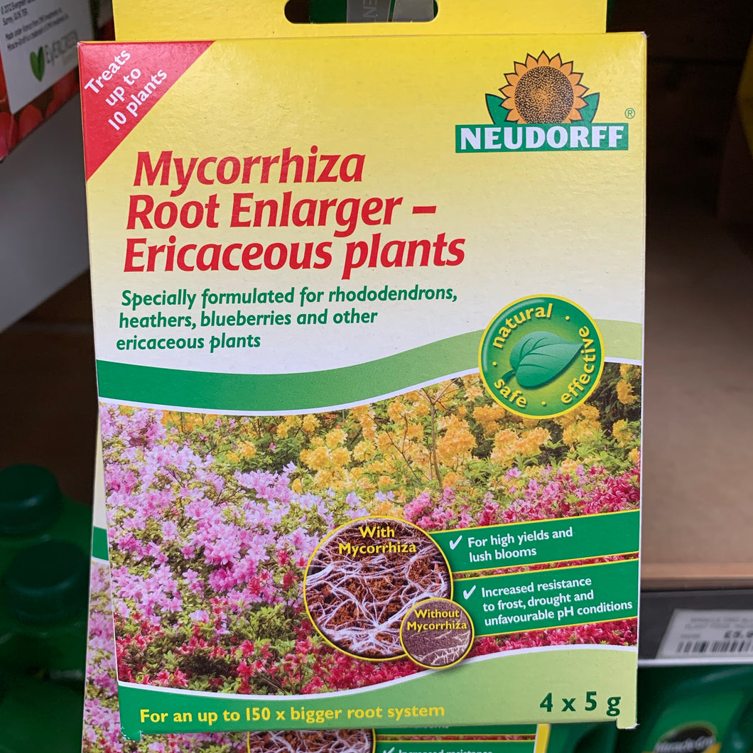 Mycorrhiza Root Enlarger Ericaceous 4 x 5g