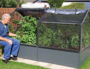 **HALF PRICE** Growcamp Raised Bed with Cover plus extension