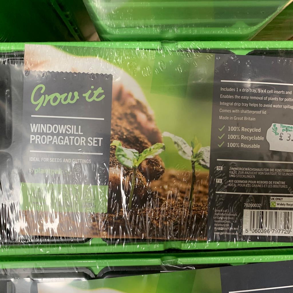 Windowsill Propagator Set