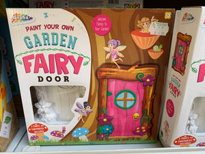 Paint your own Fairy Garden Door