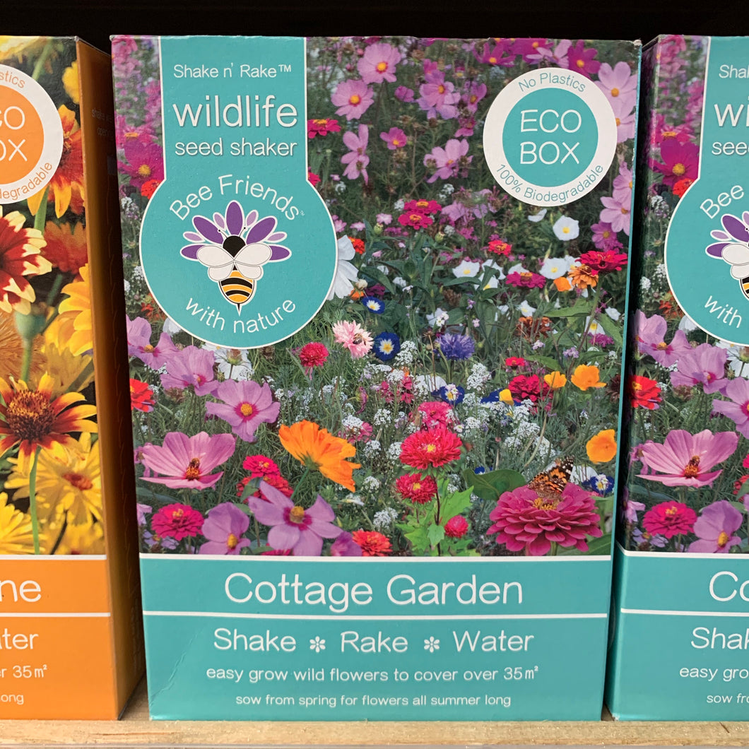 Cottage Garden Seed Shaker Pack