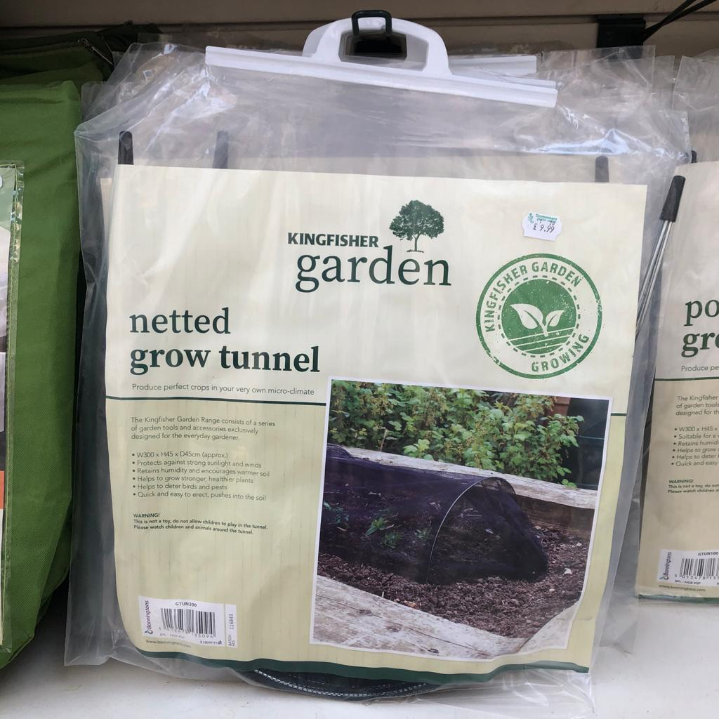 Kingfisher Netted Grow Tunnel