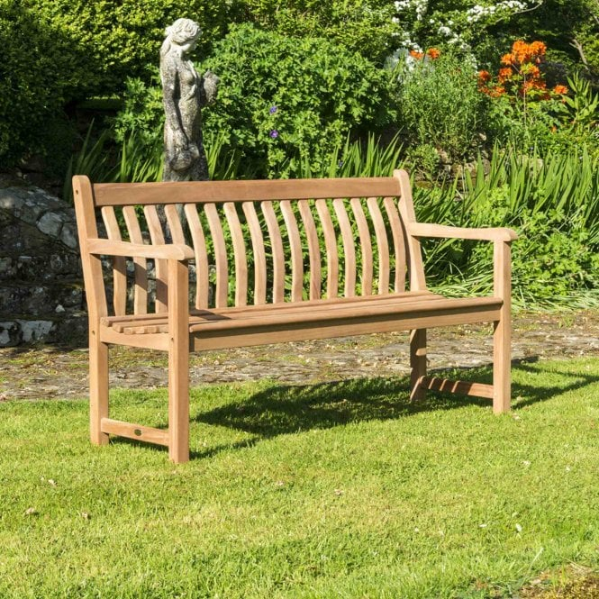 Alexander Rose Mahogany Broadfield 5ft Garden Bench