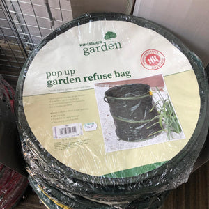 Kingfisher Pop Up Garden Refuse Bag