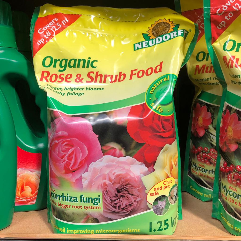 Neudorf Organic Rose & Shrub Food - 1.25kg