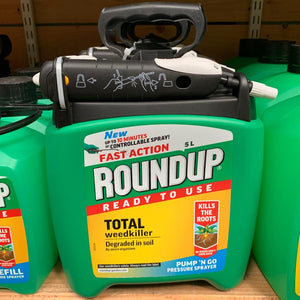 Roundup Ready To Use Weedkiller Pump n Go 5L