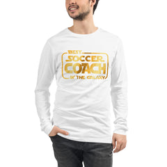 Best Soccer Coach Long Sleeve Tee