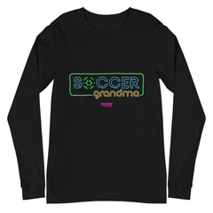Grandma Disco Soccer Long Sleeve Tee