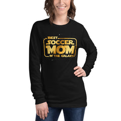 Best Soccer Mom in the Galaxy Long Sleeve Tee