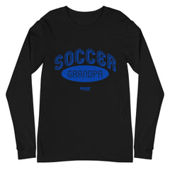 Soccer Grandpa Retro Long Sleeve Tee