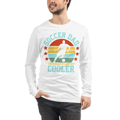 Soccer Dad but Cooler Long Sleeve Tee