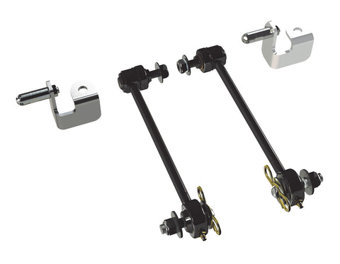 "JK/JKU 6"" Lift Front Sway Bar Quick Disconnect Kit (12-1/4"")"