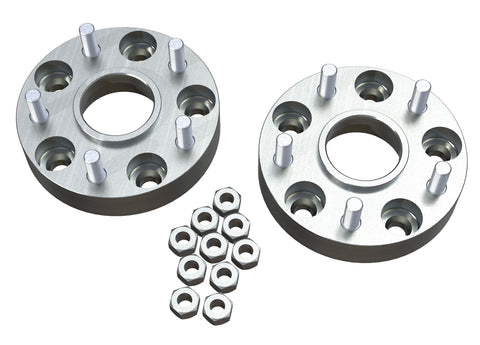 "JK 1.25"" Wheel Offset Adapter Kit - 5x5"" to 5x5"" - Pair"