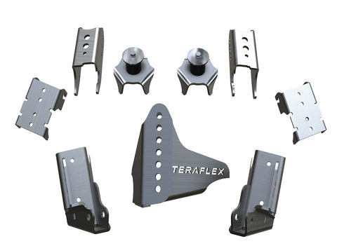 JK/JKU CRD60 Rear Axle Bracket Kit