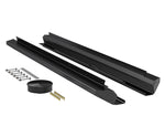 JKU 4-Door Aluminum Rock Slider Kit - Powder Coat