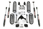 "JKU 4-Door 2.5"" Lift Kit w/ 9550 VSS Shocks"