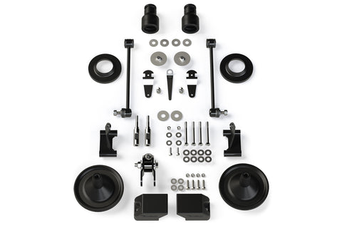 "JK/JKU 2.5"" Performance Spacer Lift Kit w/ Shock Extensions"