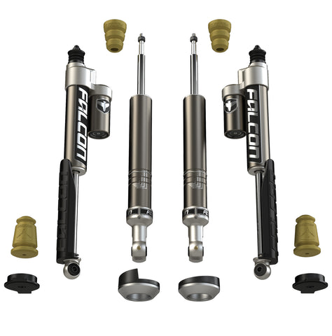 2005+ Toyota Tacoma Falcon Sport Leveling Shock Absorber System - Moab Outfitters