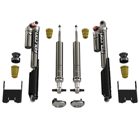 2015+ Ford F-150 Falcon Sport Tow/Haul Leveling Shock Absorber System - Moab Outfitters