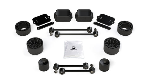 "JL 2-Door Rubicon: 2.5"" Performance Spacer Lift Kit - No Shocks or Shock Extensions"
