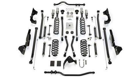 "JK 4-Door 4"" Prerunner Long Flexarm Suspension System - Moab Outfitters"