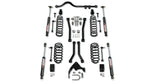 "JKU 4-Door 3"" Lift Suspension System w/ 4 Sport Flexarms, Track Bar, & 9550 VSS Shocks - Moab Outfitters"