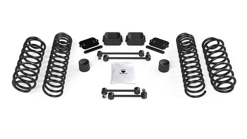 "JL 2dr: 2.5"" Coil Spring Base Lift Kit - No Shock Absorbers"
