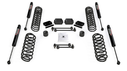"JL 2dr: 2.5"" Coil Spring Base Lift Kit & 9550 VSS Twin-Tube Shocks"