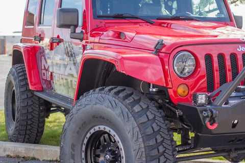 JK-MAX Fender Flares - Moab Outfitters