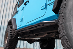 Jeep Rock Sliders | Classic | 4 Door Jeep Wrangler JKU (07-18) - Moab Outfitters