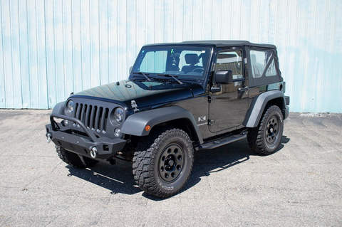 Jeep Rock Sliders | Classic | 2 Door Jeep Wrangler JK (07-18) - Moab Outfitters