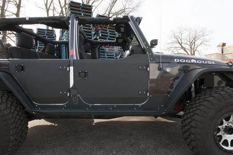 JK Half Doors | Front | Crusader Trail Doors | Jeep Wrangler (07-18) - Moab Outfitters