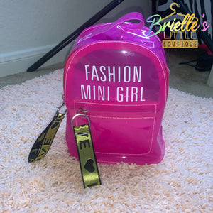 Pink Fashion Bag