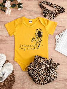 Sunflower Bodysuit set