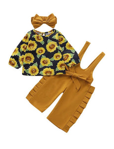 Baby Girl Sunflower Set
