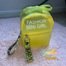 Load image into Gallery viewer, Yellow Fashion Bag