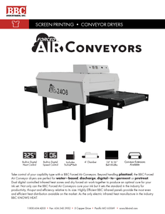 BBC Forced Air Conveyor Dryer